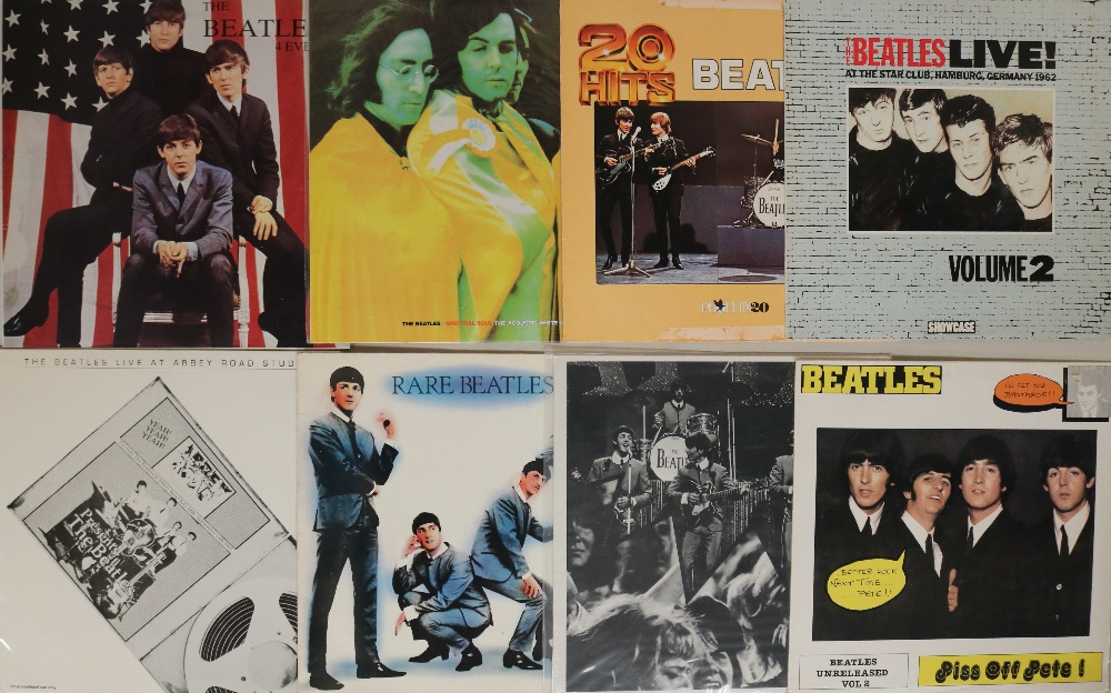 Lot 42 - PRIVATE/COMPILATION LPs. Great for a fan, here's 16 x private/compilation LP releases.