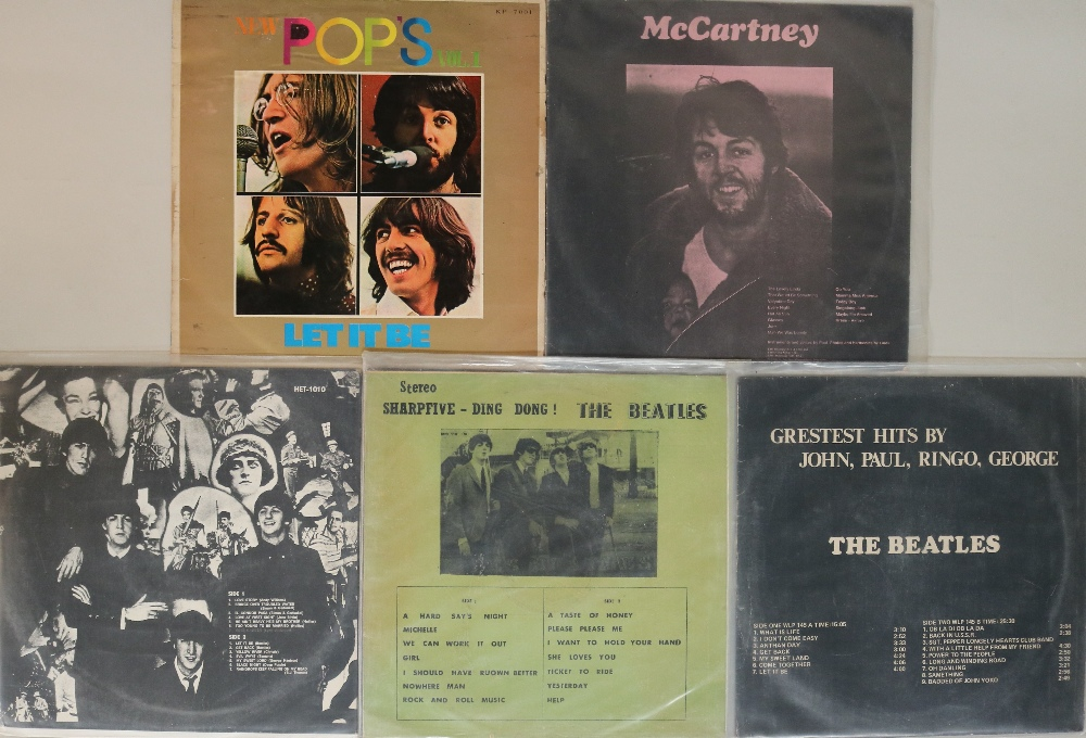 Lot 17 - ASIAN PRESSING LP RELEASES. Unusual pack of 5 x Asian pressing LPs.