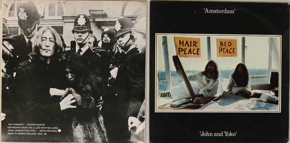 Lot 10 - JOHN LENNON/YOKO ONO - LPs. Lovely package of 2 x original title LP releases.