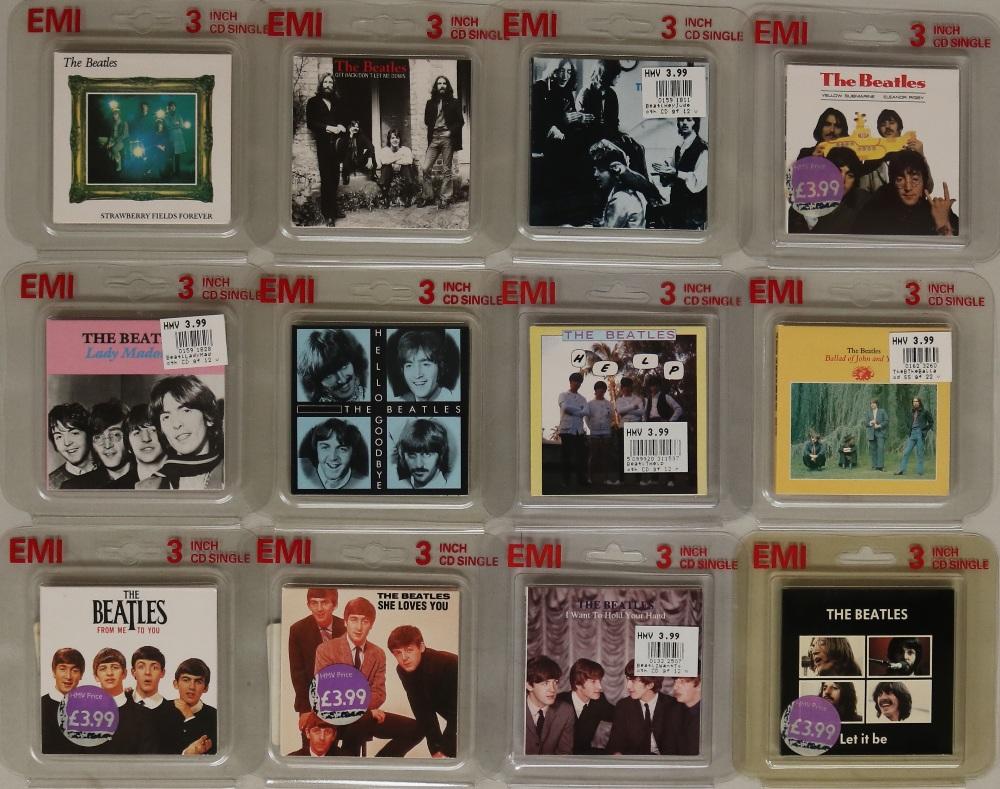 Lot 37 - 3 INCH CD SINGLES.