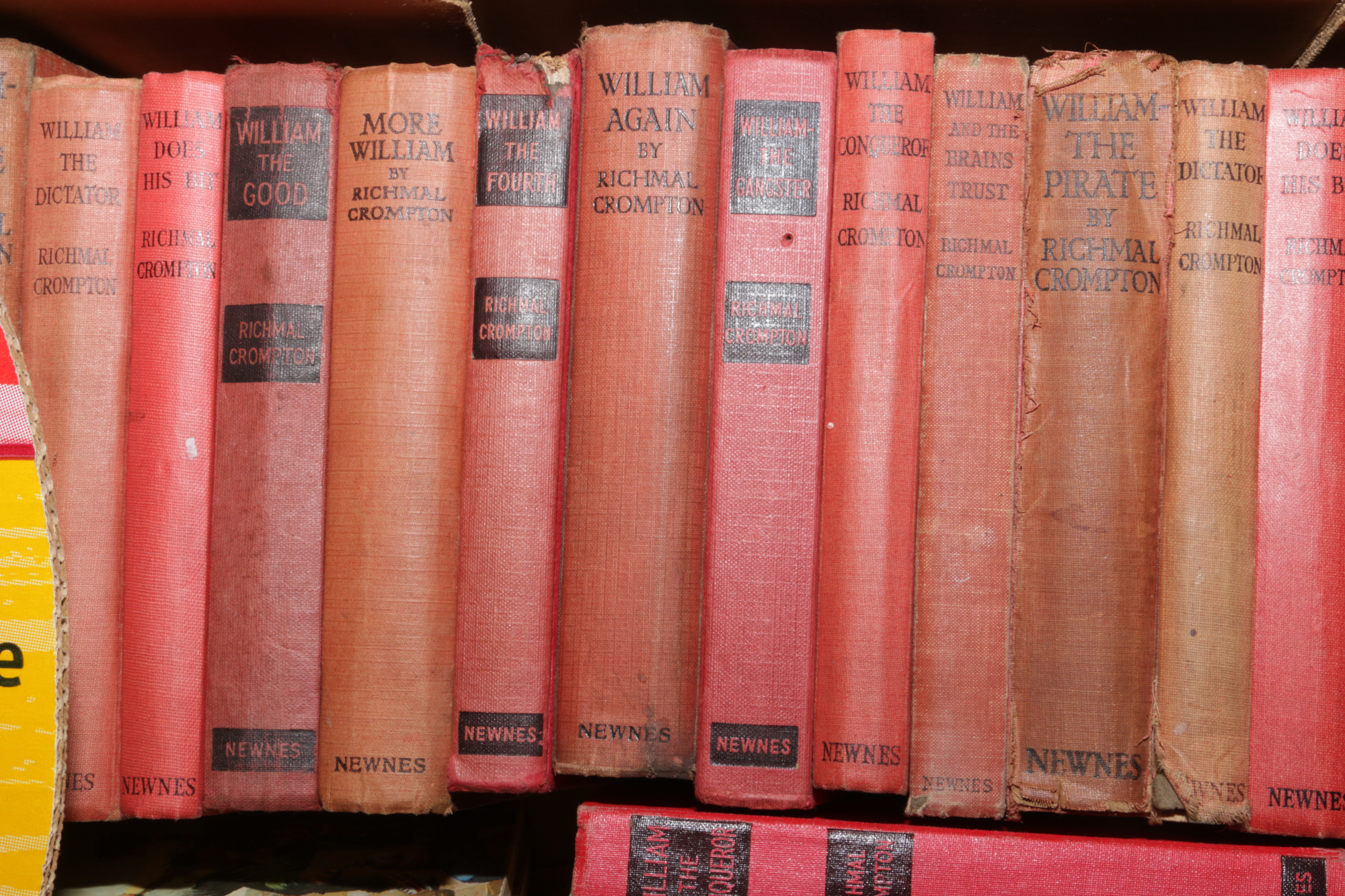 Lot 87 - A box of approximately 50 William books by Richmal Crompton.
