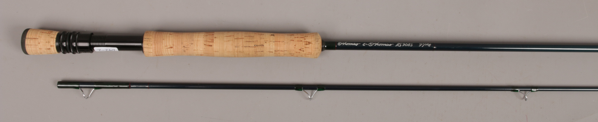 Lot 402 - A Thomas & Thomas two part fly fishing rod No. 74 / 387 HS 9085 91/ # 8 with canvas bag.