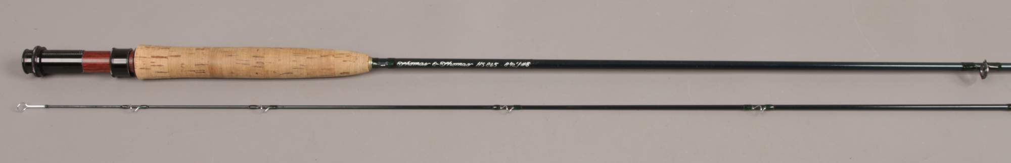 Lot 404 - A Thomas & Thomas two part fly fishing rod HS 81/2 / # 5 with canvas bag and aluminium protective