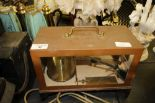 Lot 40 - Griffin & Tatlock Copper Hygrometer/Barometer