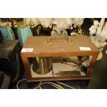 Lot 40 - Griffin & Tatlock Copper Hygrometer/Barometer