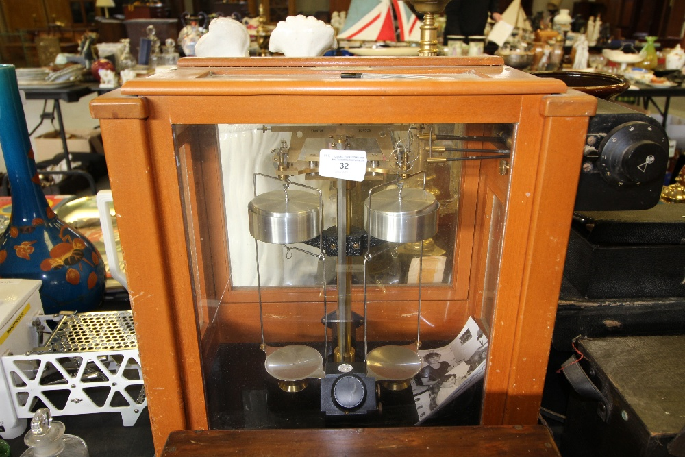 Lot 32 - Cased set of Stanton Scales