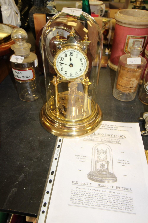 Lot 44 - 400 Day Clock by Jahresuhren-Fabrik Germany 77079