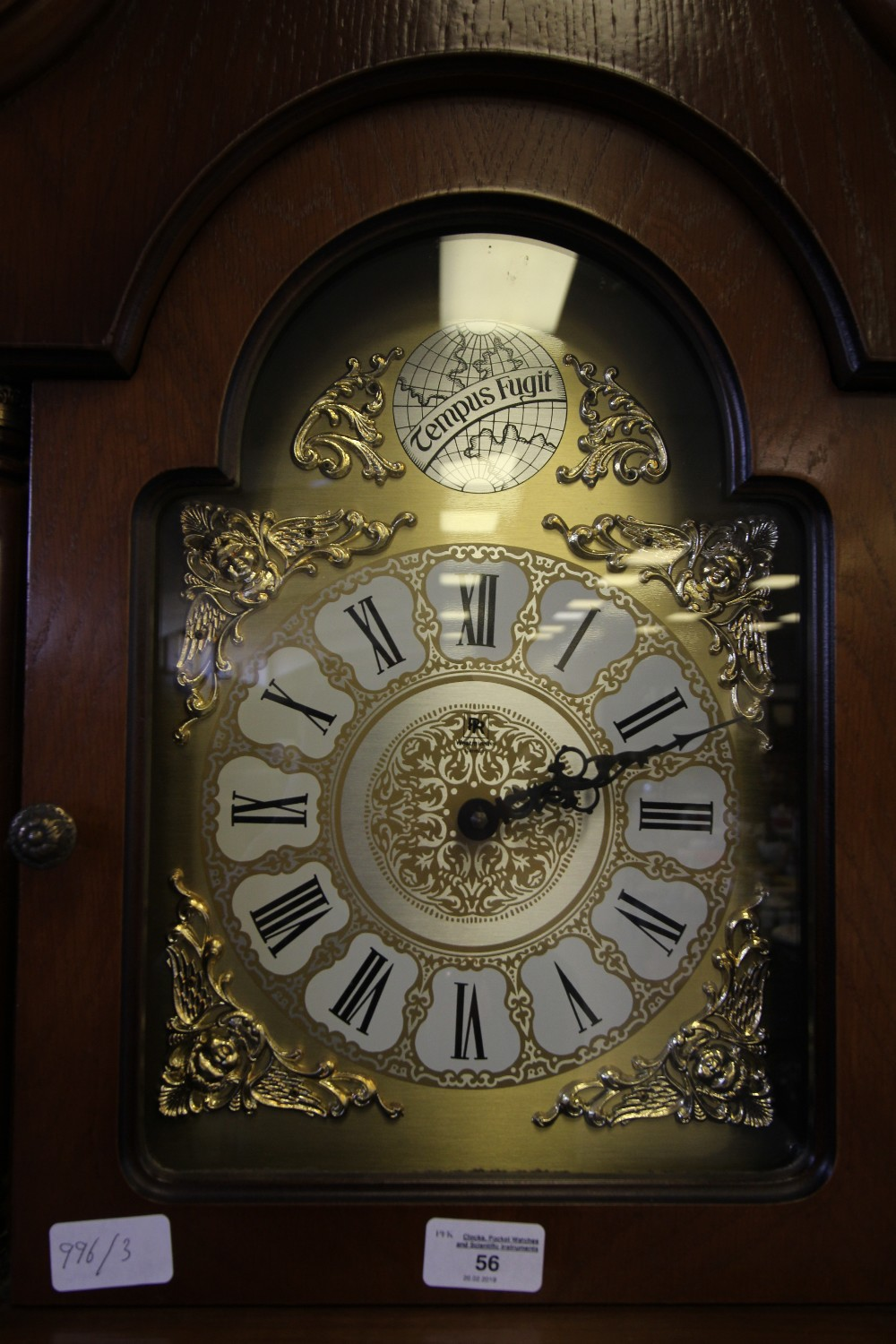 Lot 56 - Westminster Chimes Grandmother Clock