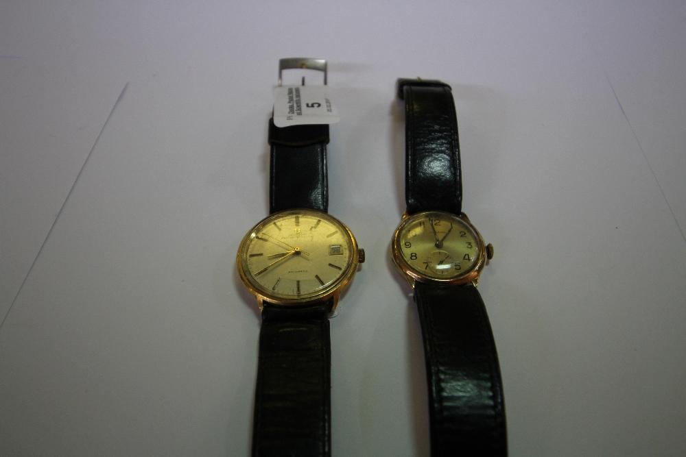 Lot 5 - Crusader Wristwatch & Universal Wrist Watch