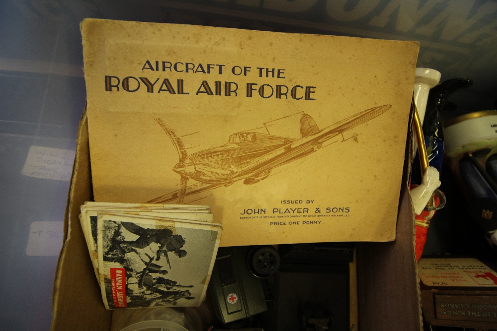 Lot 5 - Box of Mixed Militaria inc Trench Art