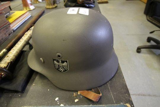 WWII German Infantry Helmet (refurbished)