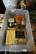 Lot 5 - Box of Mixed Militaria inc Trench Art
