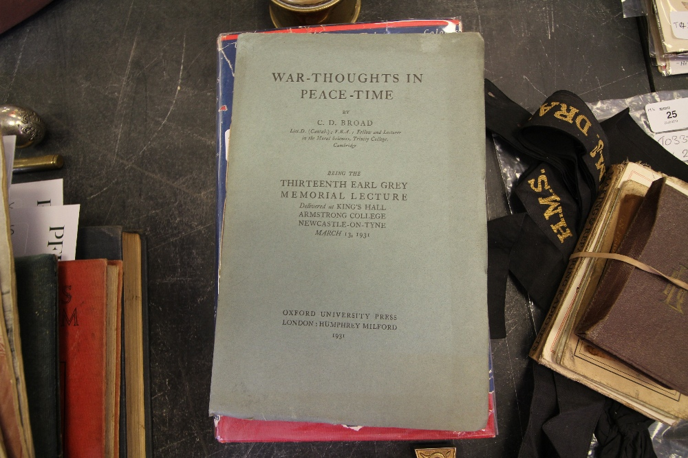 Lot 23 - Group of Books including History of The Regiments & Uniforms of the British Army, War Poets &