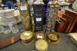 Lot 22 - WW1 Trench Art Group, comprising 7 items
