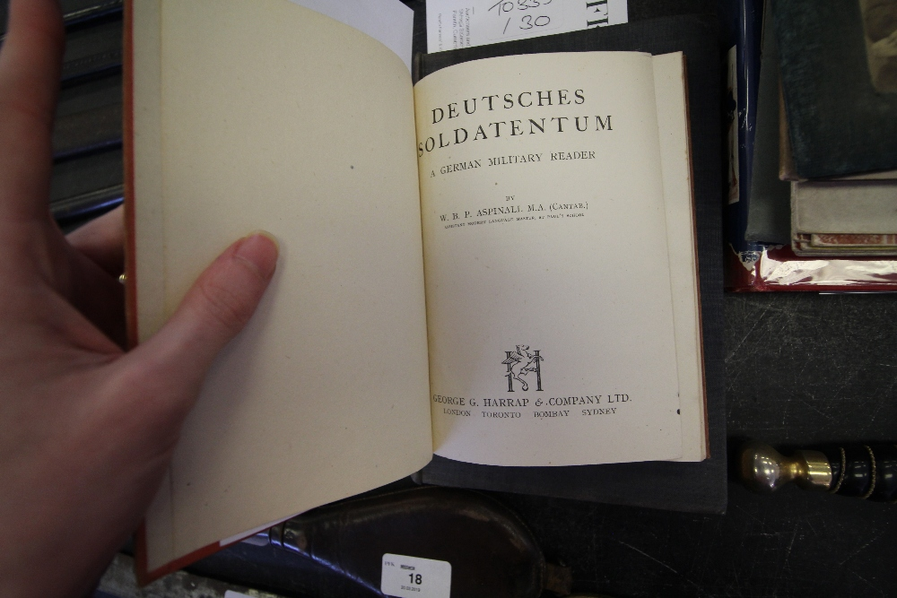 """Lot 21 - First Edition """"Dambusters"""" and 1943 First Edition Copy of Deutsches Soldatentum"""