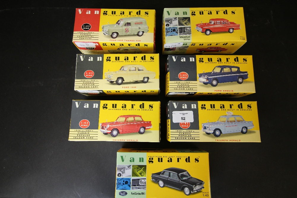 Lot 52 - Vanguards - VA38000, VA5000, VA1000, VA33000, VA21000, VA07300, VA5001