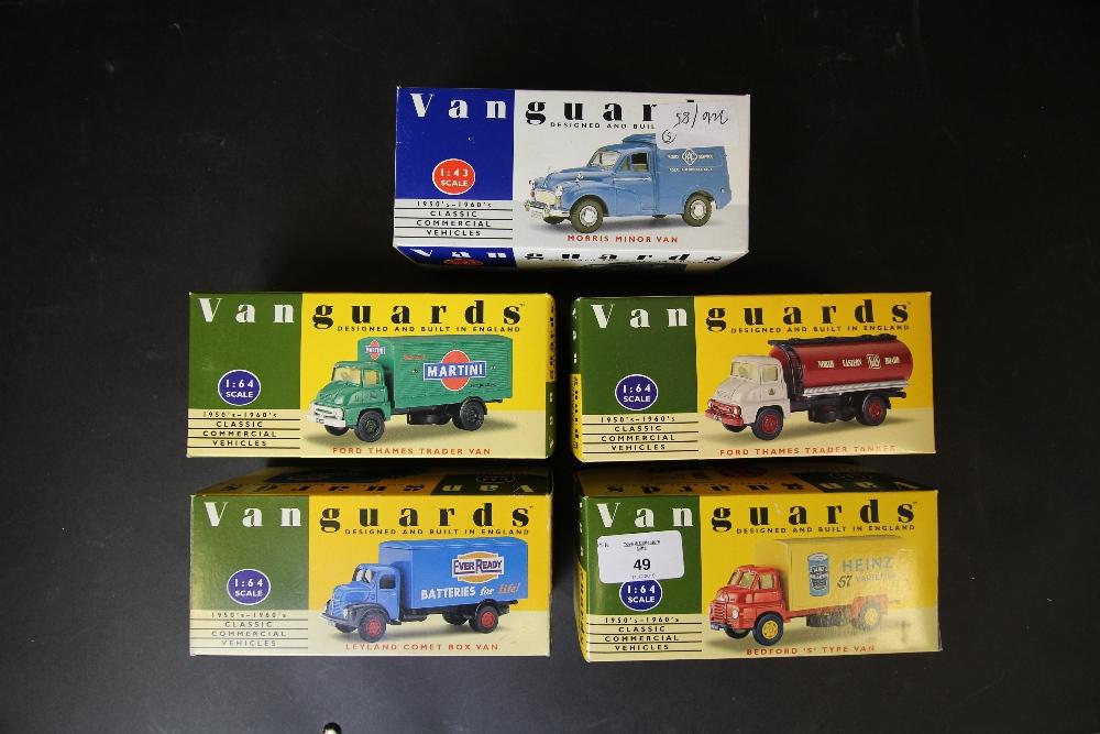 Lot 49 - Vanguards - VA11005, VA9000, VA8000, VA18000, VA6000