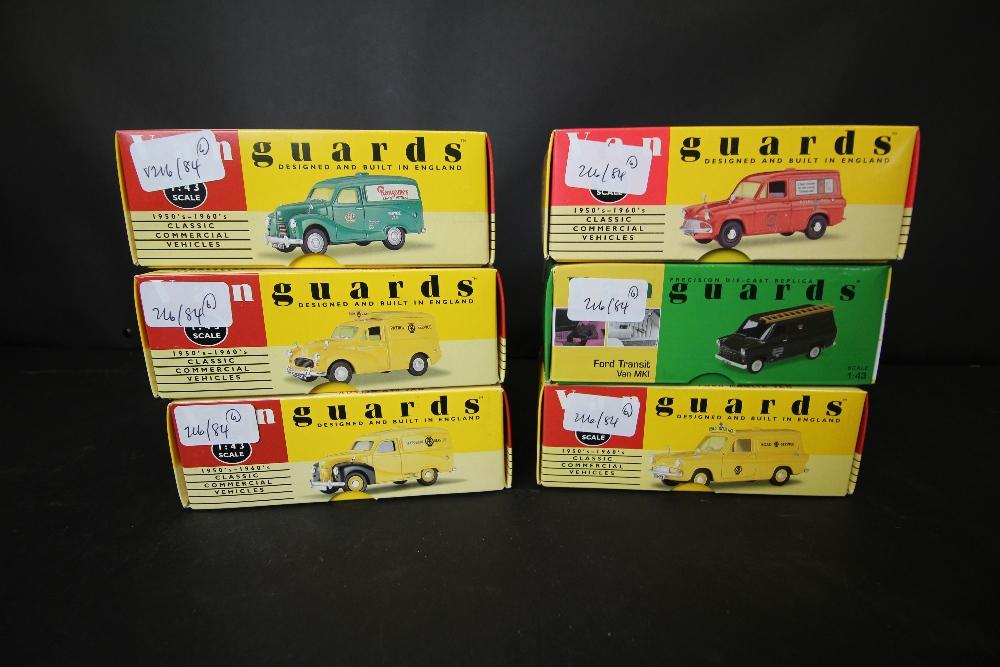 Lot 43 - Vanguards - VA3002, VA11000, VA3000, VA4001, VA4000, VA06600