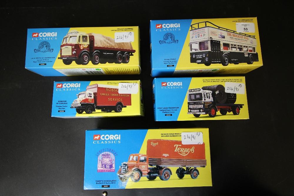 Lot 53 - Corgi Classics - 25301, 33501, 24501, 18402, 30304