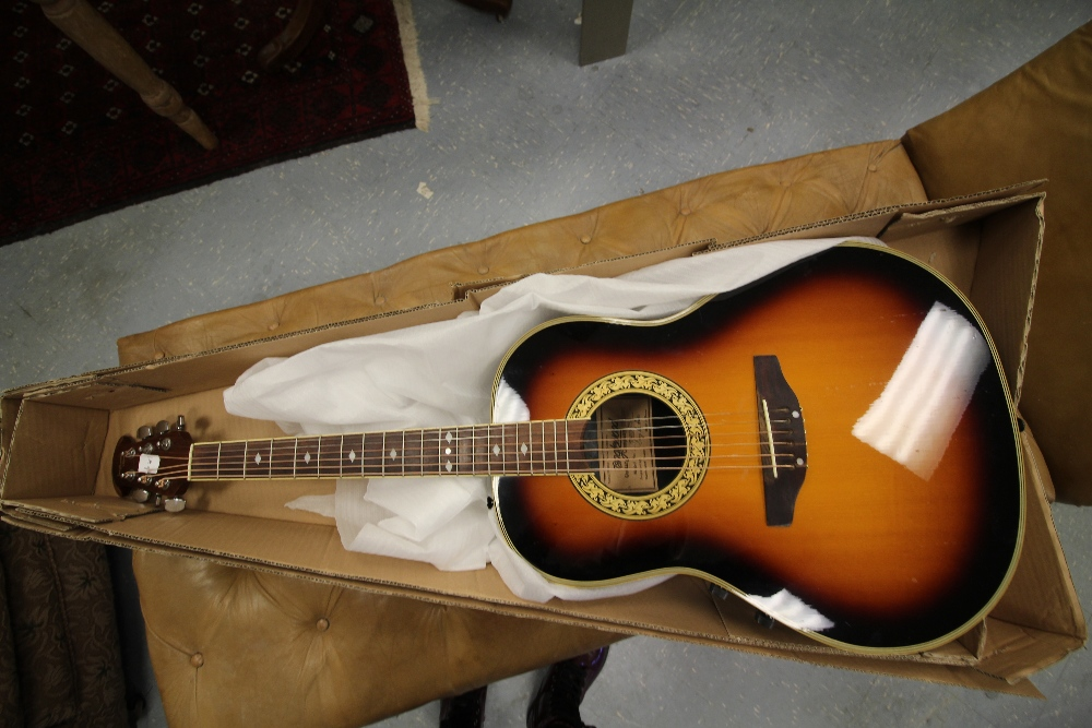 Lot 41 - Tanglewood Odyssey acoustic 6 string guitar