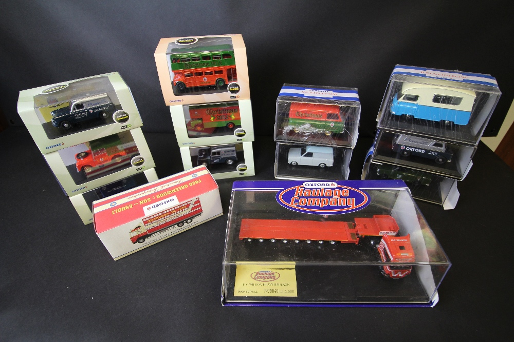 Lot 10 - 13 Oxford Road Show, Commercials, Livestock Transporters, Haulage, Omnibus Models