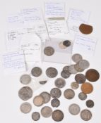 Coins, Tokens & Banknotes