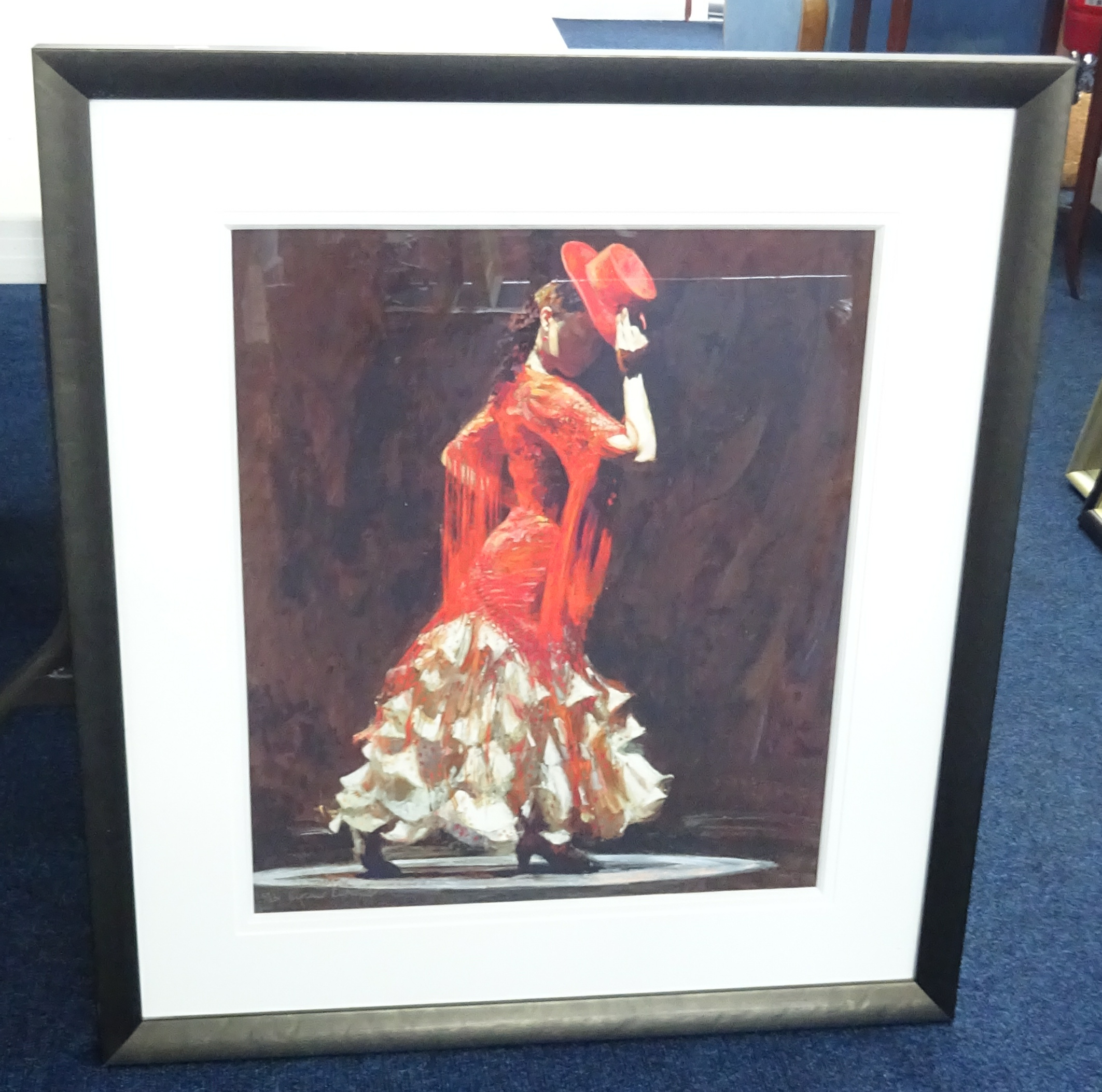 Lot 025 - Fletcher contemporary print titled 'Beauty in the Shadows', framed and glazed.
