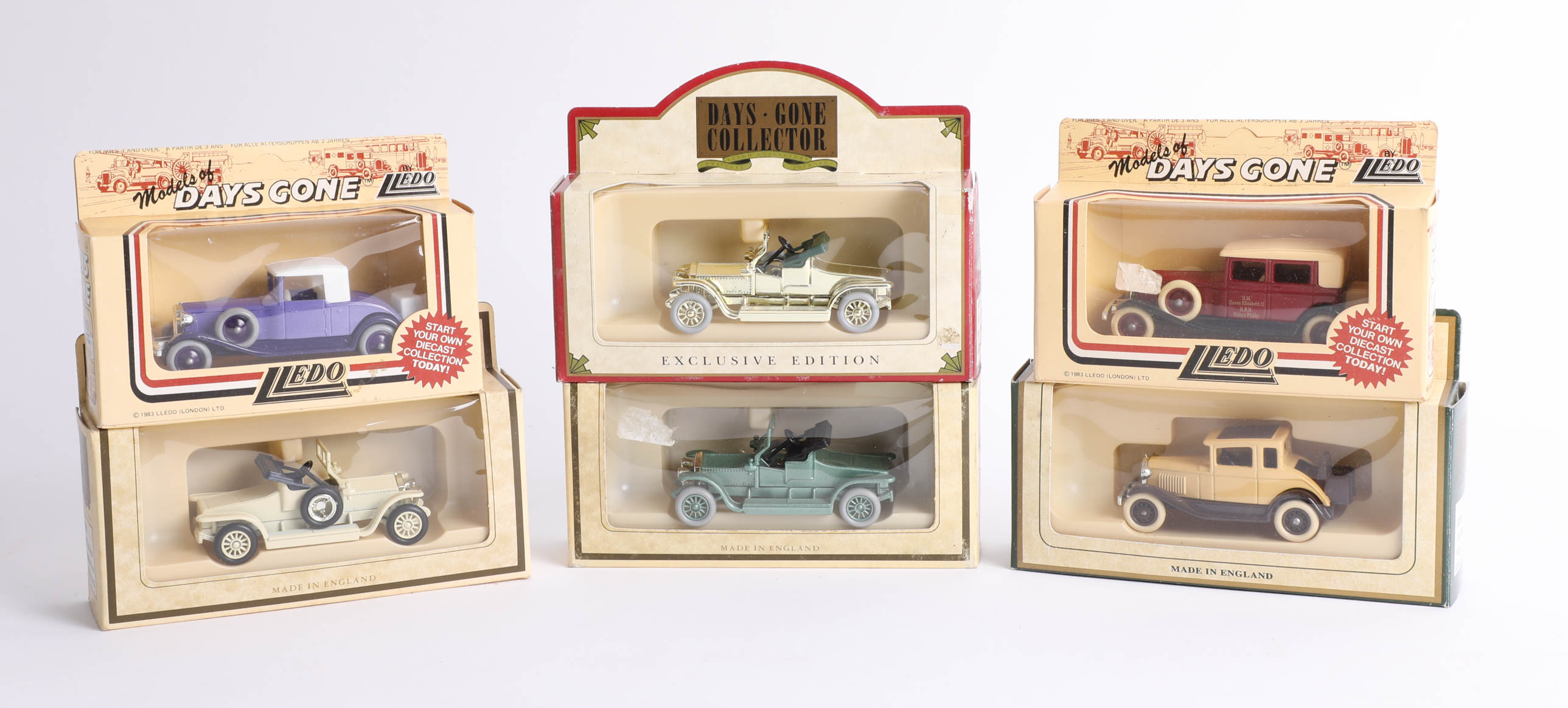Lot 041 - Forty-three 'Days Gone' diecast cars. (43)