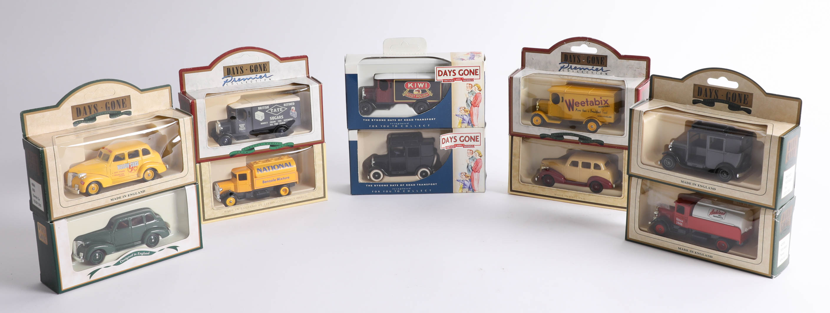 Lot 036 - Thirty-eight 'Days Gone' diecast cars. (38)
