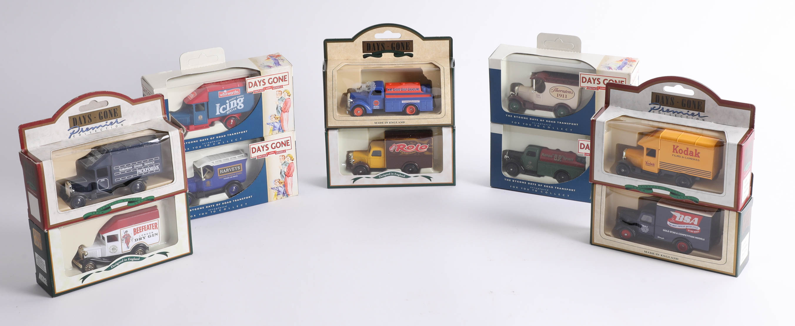 Lot 035 - Forty-eight 'Days Gone' diecast cars. (48)