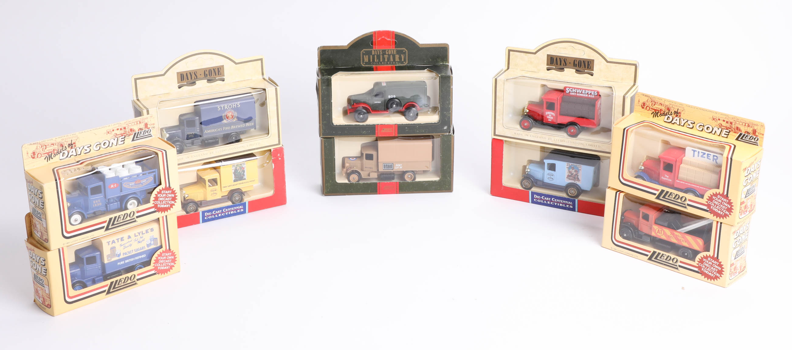 Lot 037 - Sixty-one 'Days Gone' diecast cars and two 'Normal Rockwell's 100th Anniversary' diecast cars. (63)