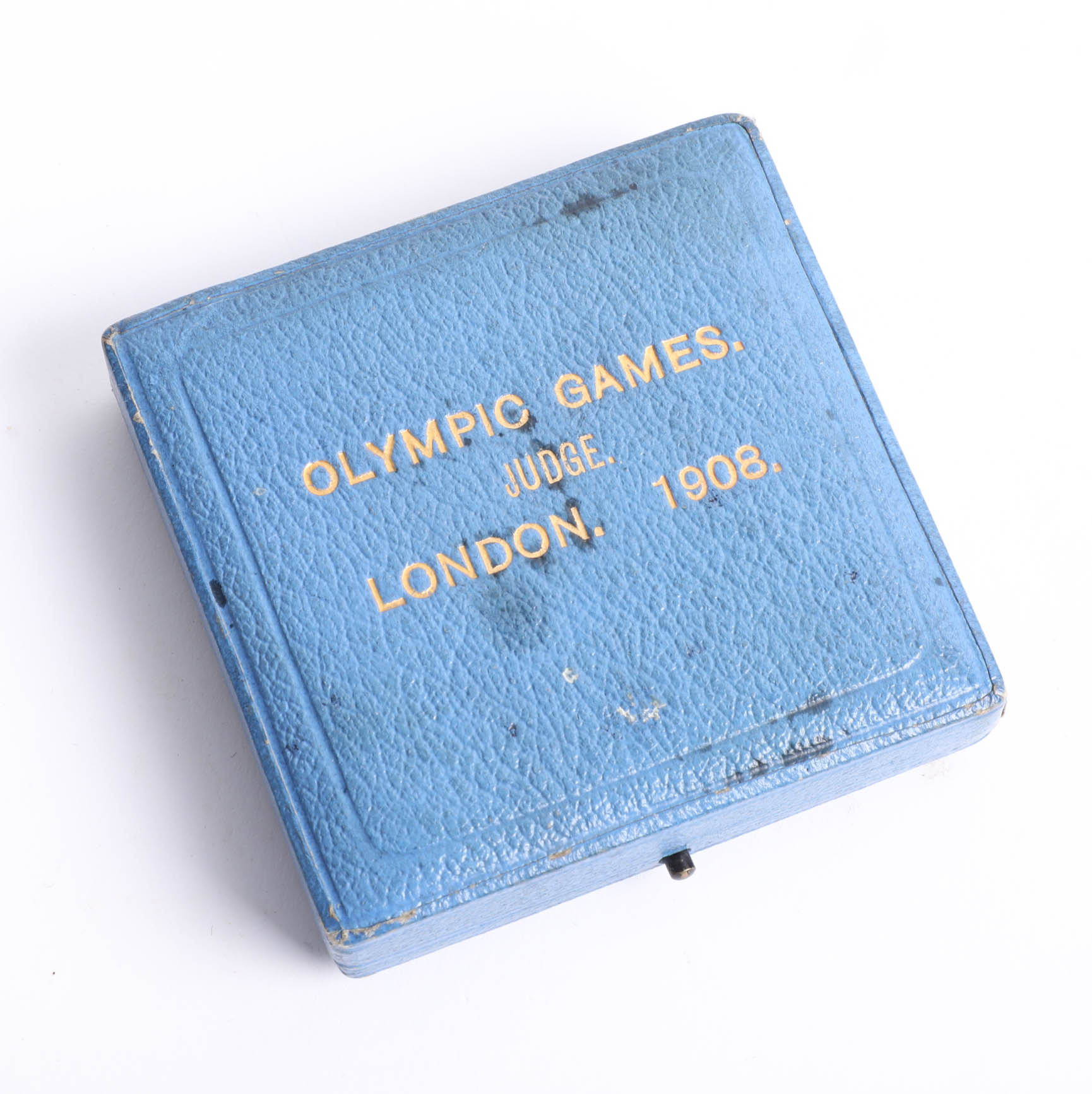 Lot 007 - A London Olympics 1908 Judge`s commemorative medal by P. Vaughton, the obverse depicting 'Flame'