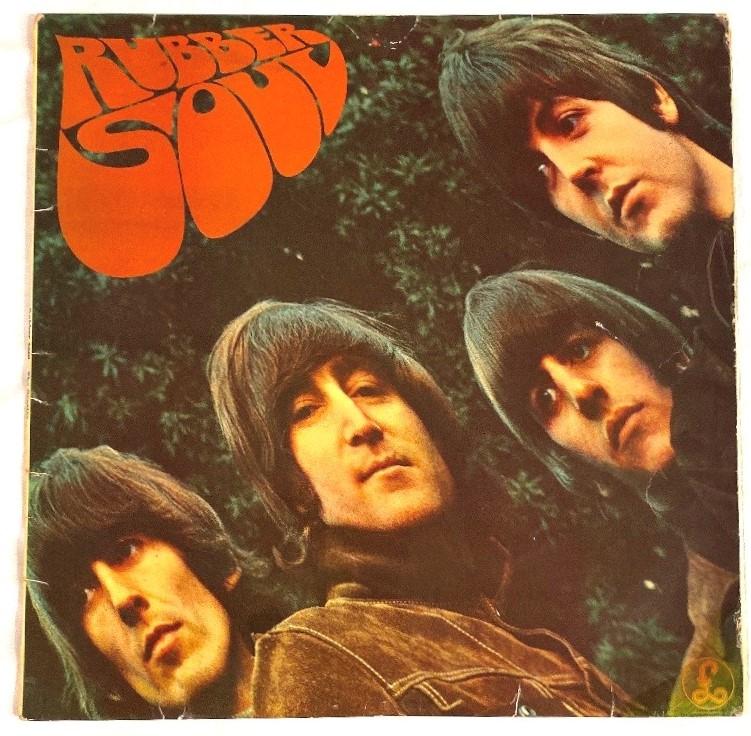 Lot 170 - Beatles LP 'Rubber Soul' (PMC 1267 XEX579(80)) mono