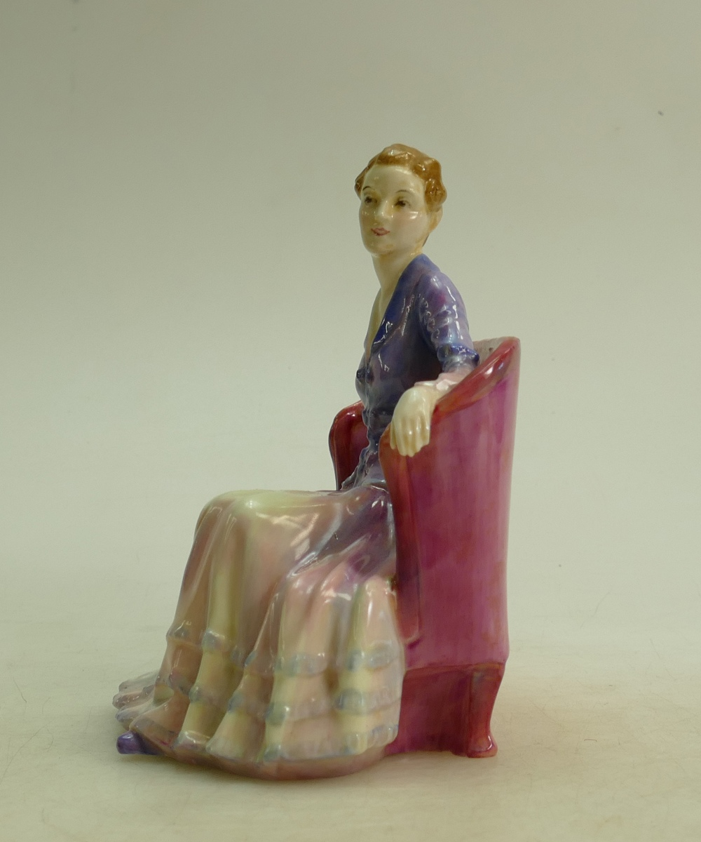 Lot 28 - Royal Doulton figure Cicely HN1516: Early model dated 1932.