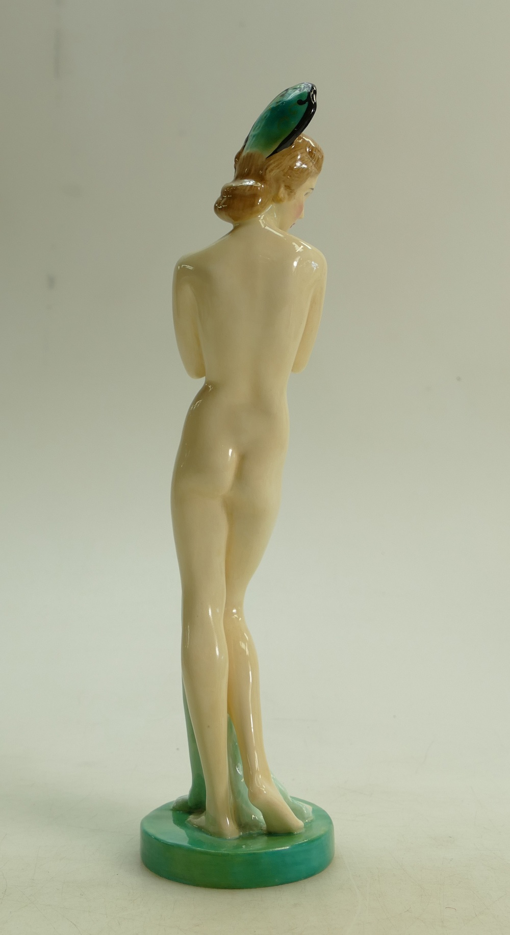 Lot 31 - Royal Doulton figure Dawn HN1858: Early model with headdress dated 1938.