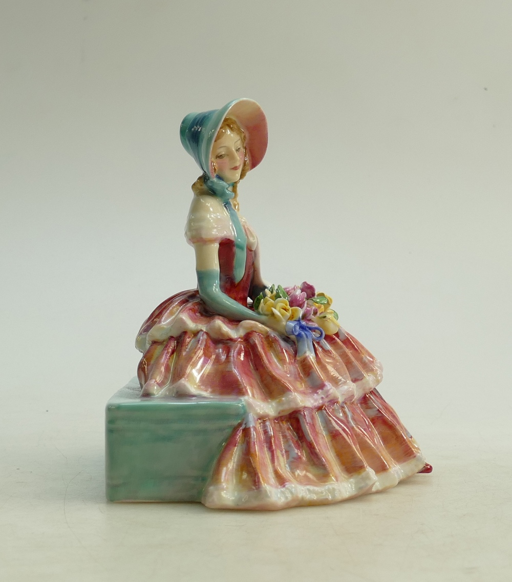 Lot 42 - Royal Doulton figure Day Dreams HN1944: In red colourway.