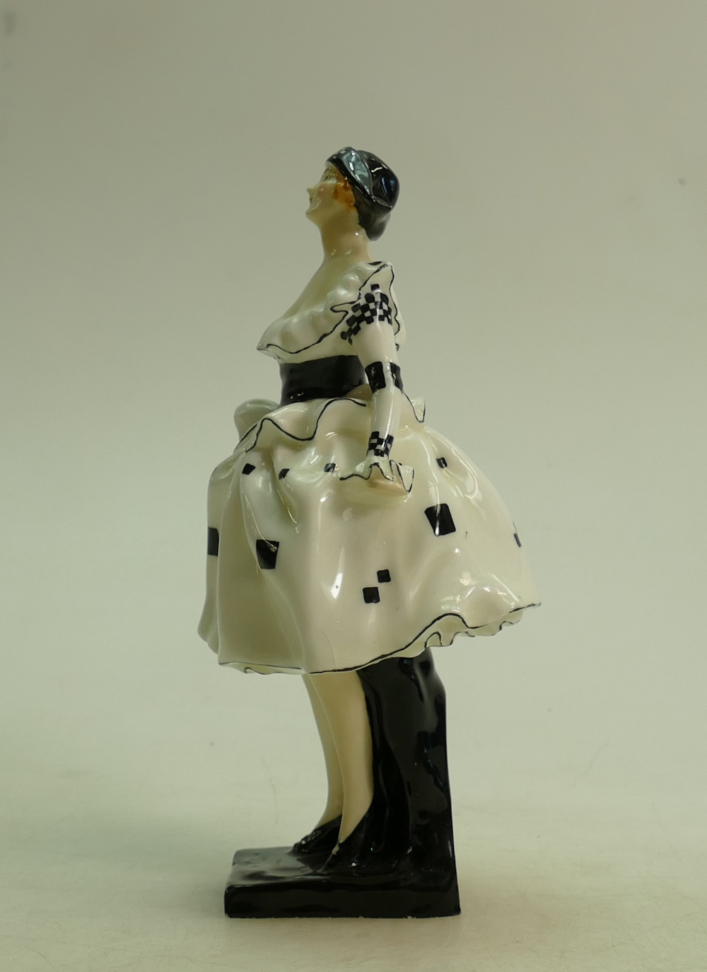 Lot 27 - Royal Doulton figure Harlequinade HN711: Early figure dated 1928.