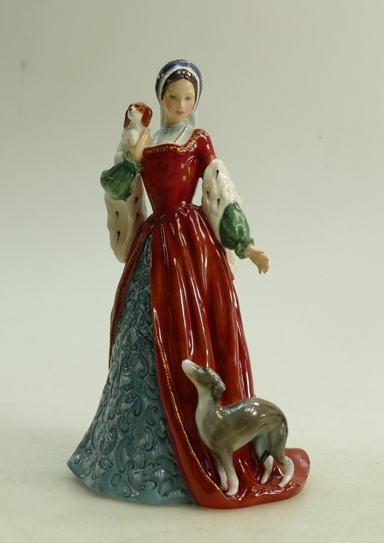 Lot 50 - Royal Doulton figure Anne Boleyn HN3232: Limited edition.