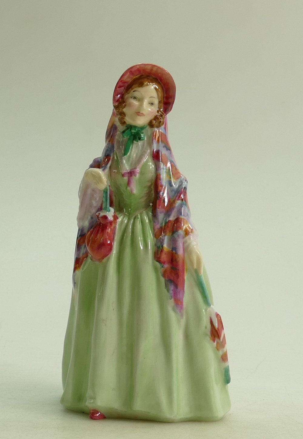 Lot 57 - Royal Doulton figure Winsome HN1666: dated 1935.
