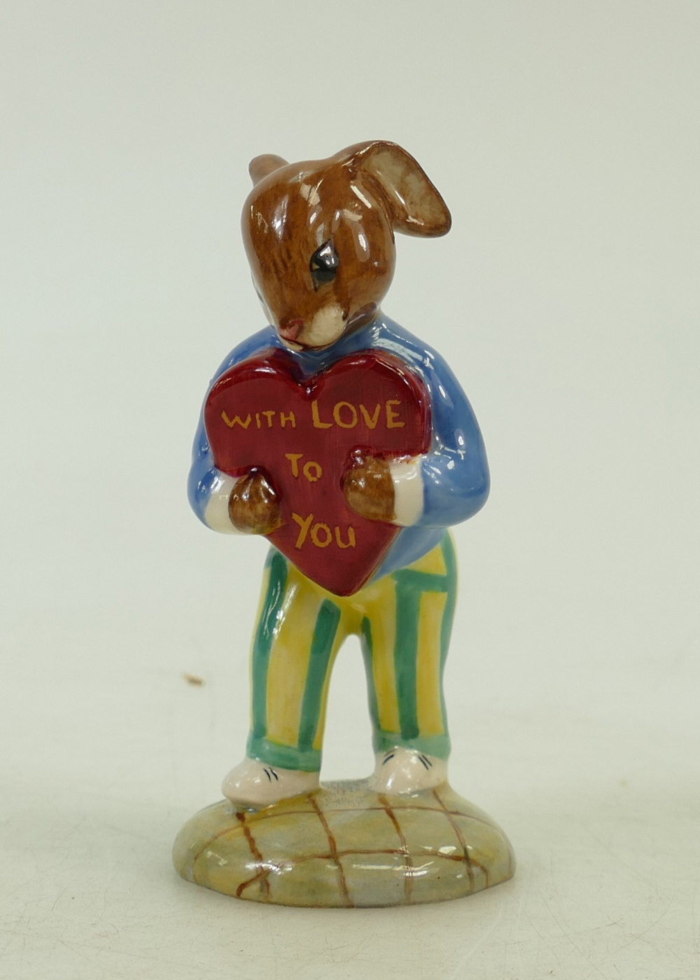 Lot 2 - Royal Doulton colourway bunnykins figure: Royal Doulton Bunnykins figure Sweetheart,