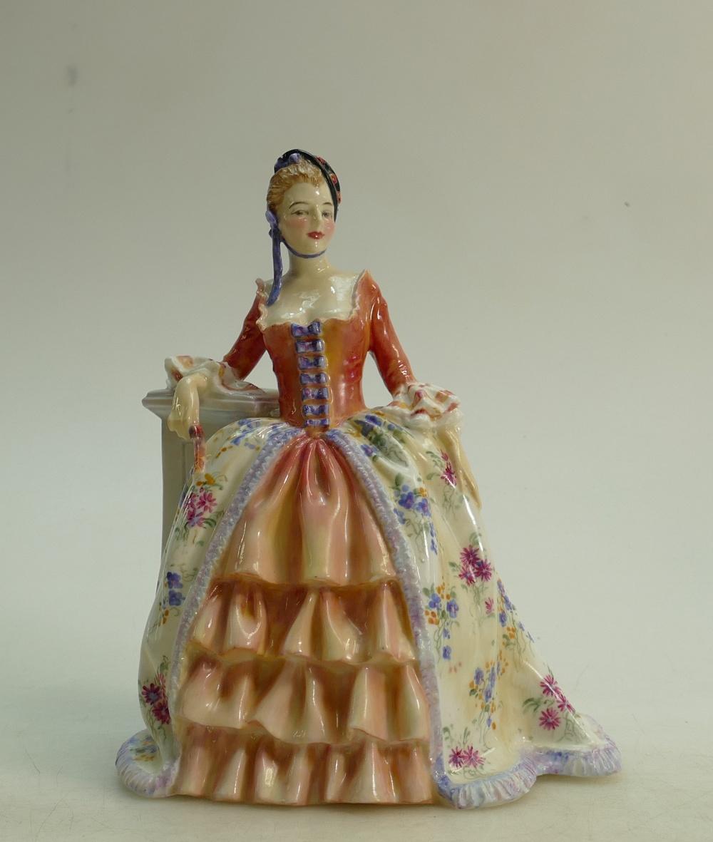 Lot 25 - Royal Doulton figure Eleanor HN1754: Early model dated 1936 by Harry Allen.
