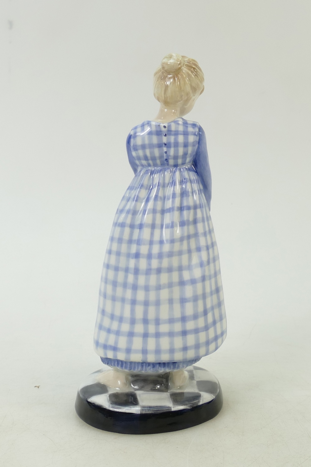 Lot 24 - Royal Doulton prototype colourway figure: Royal Doulton prototype figure Polly put the kettle on