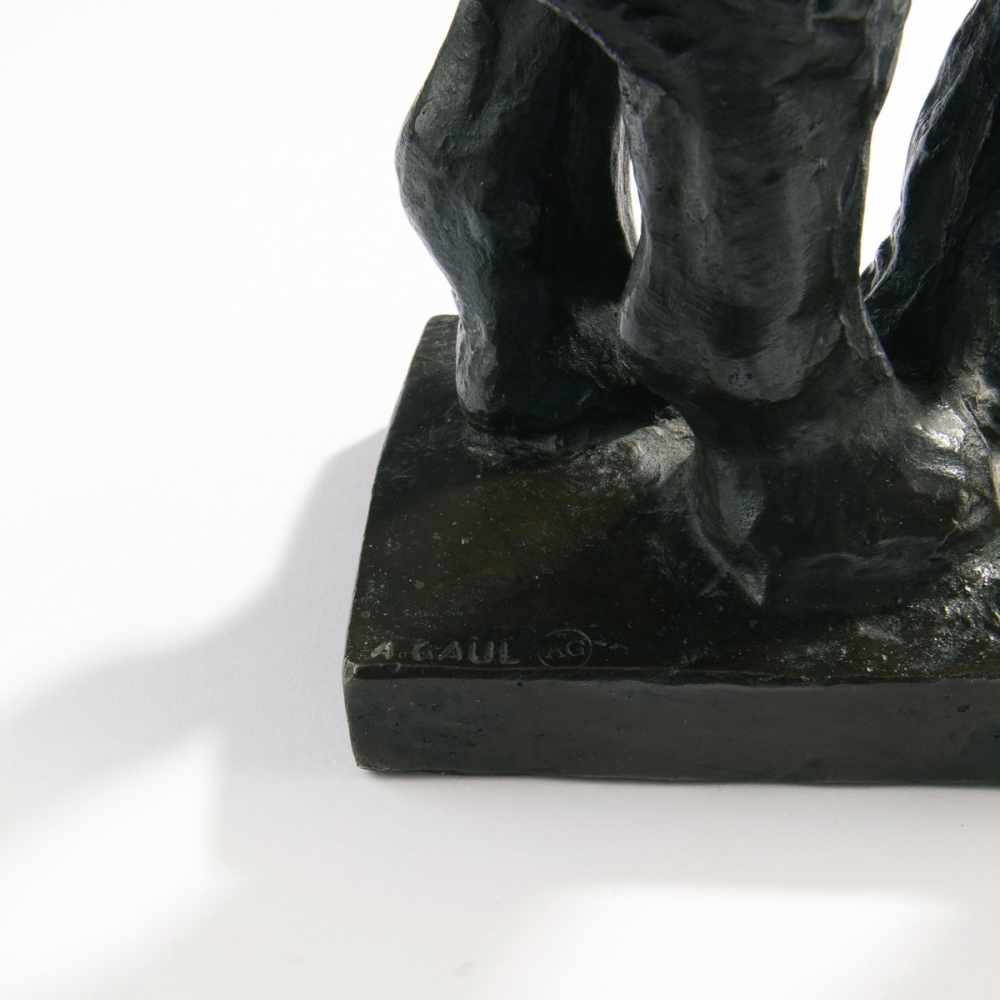 Lot 59 - August Gaul, 'Trumpeting Elephant', 1904-05'Trumpeting Elephant', 1904-05Cast posthumously in the