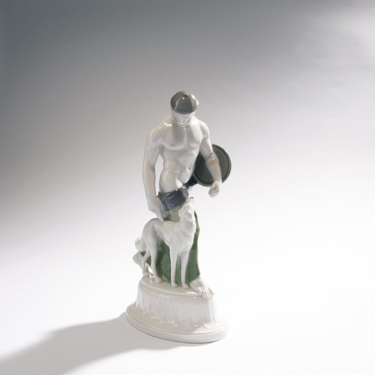 Lot 45 - Adolph Amberg, 'Goth', 1910'Goth', 1910H. 31.2 cm. Made by KPM Berlin. Porcelain, white, glazed,