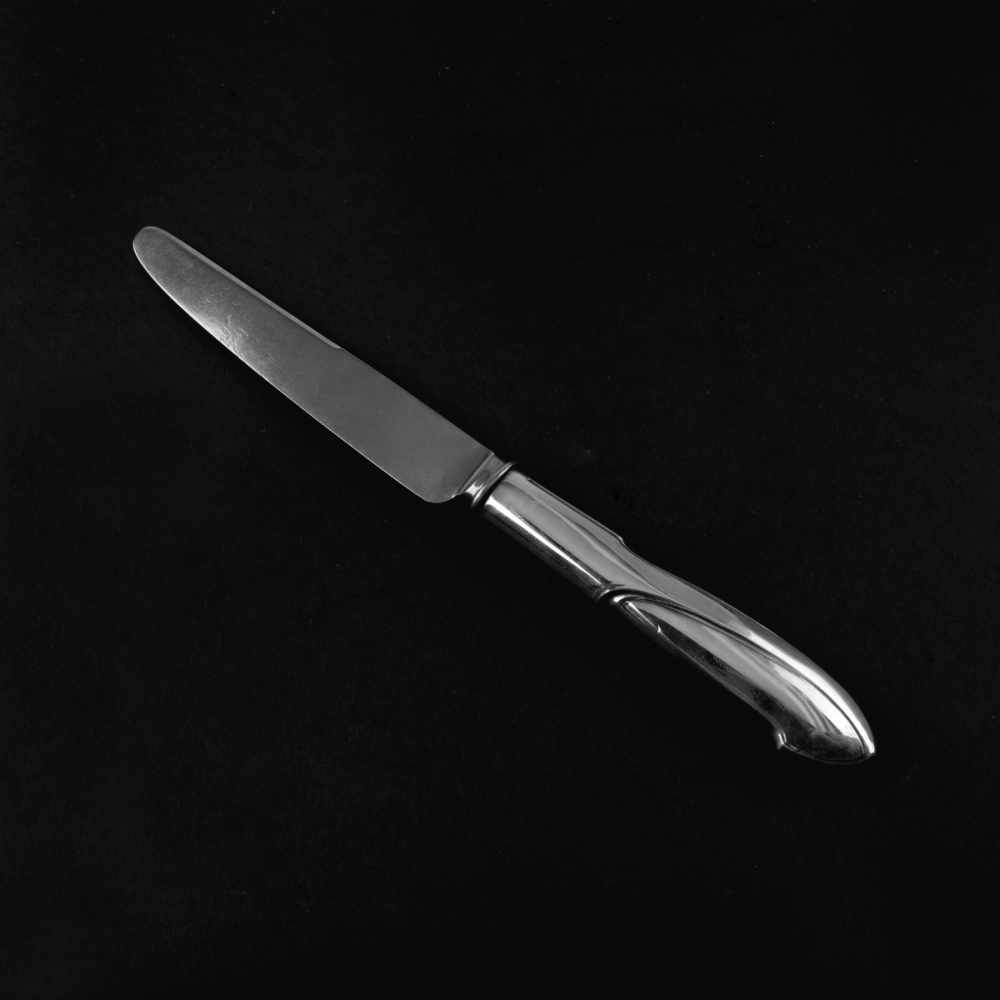 Lot 11 - Henry van de Velde, Knife 'Model I', 1903Knife 'Model I', 1903L. 24.8 cm. Made byKoch & Bergfeld,