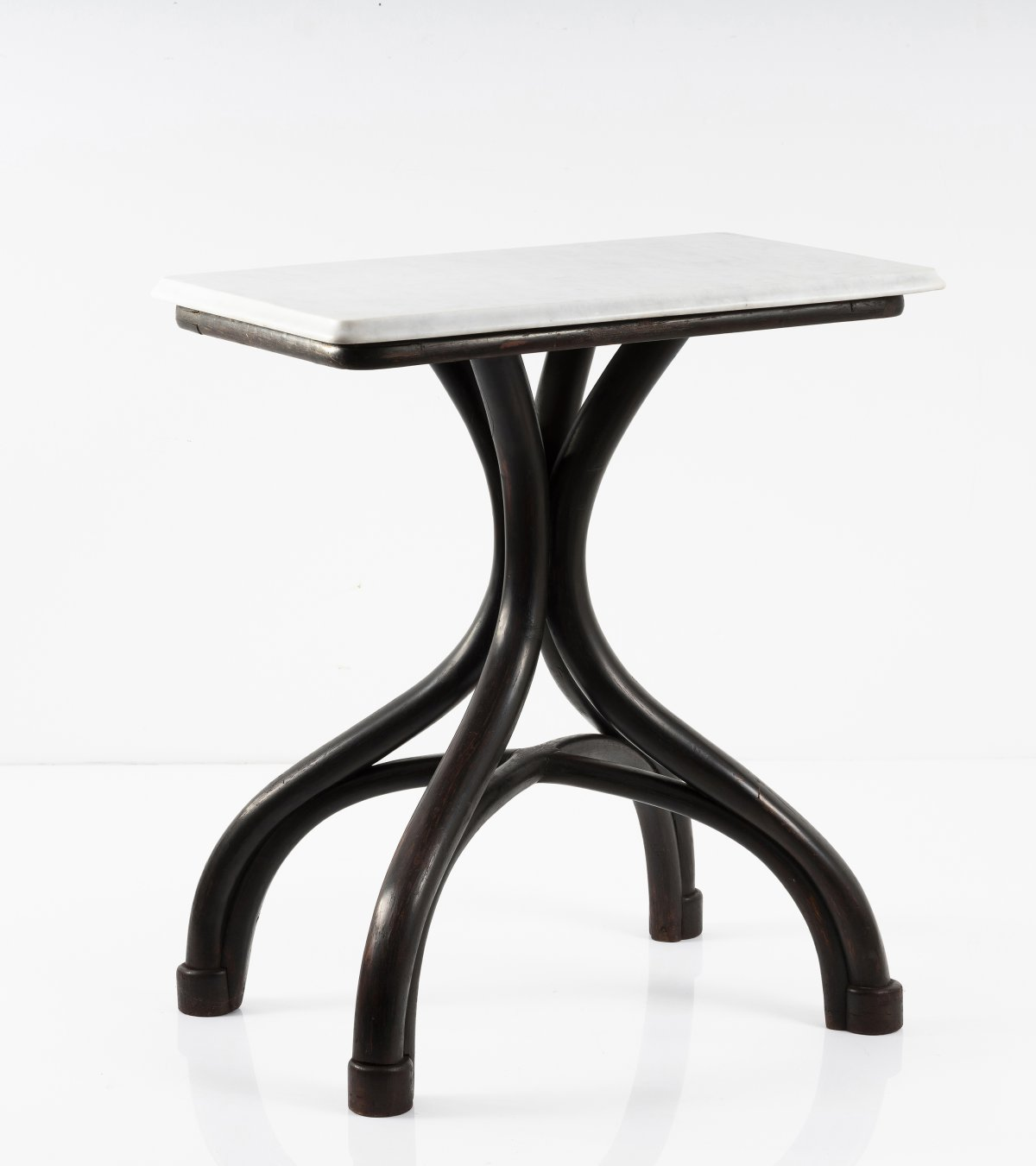 Lot 60 - Michael Thonet, Caféhaus table 'Nr. 8', c. 1866Caféhaus table 'Nr. 8', c. 1866H. 76 cm, 67.5 x 46.
