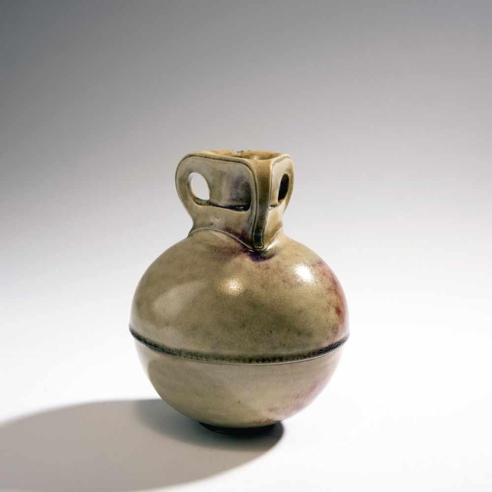 Lot 4 - Henry van de Velde, Vase, 1902Vase, 1902Spherical vessel on round base, straight round neck,