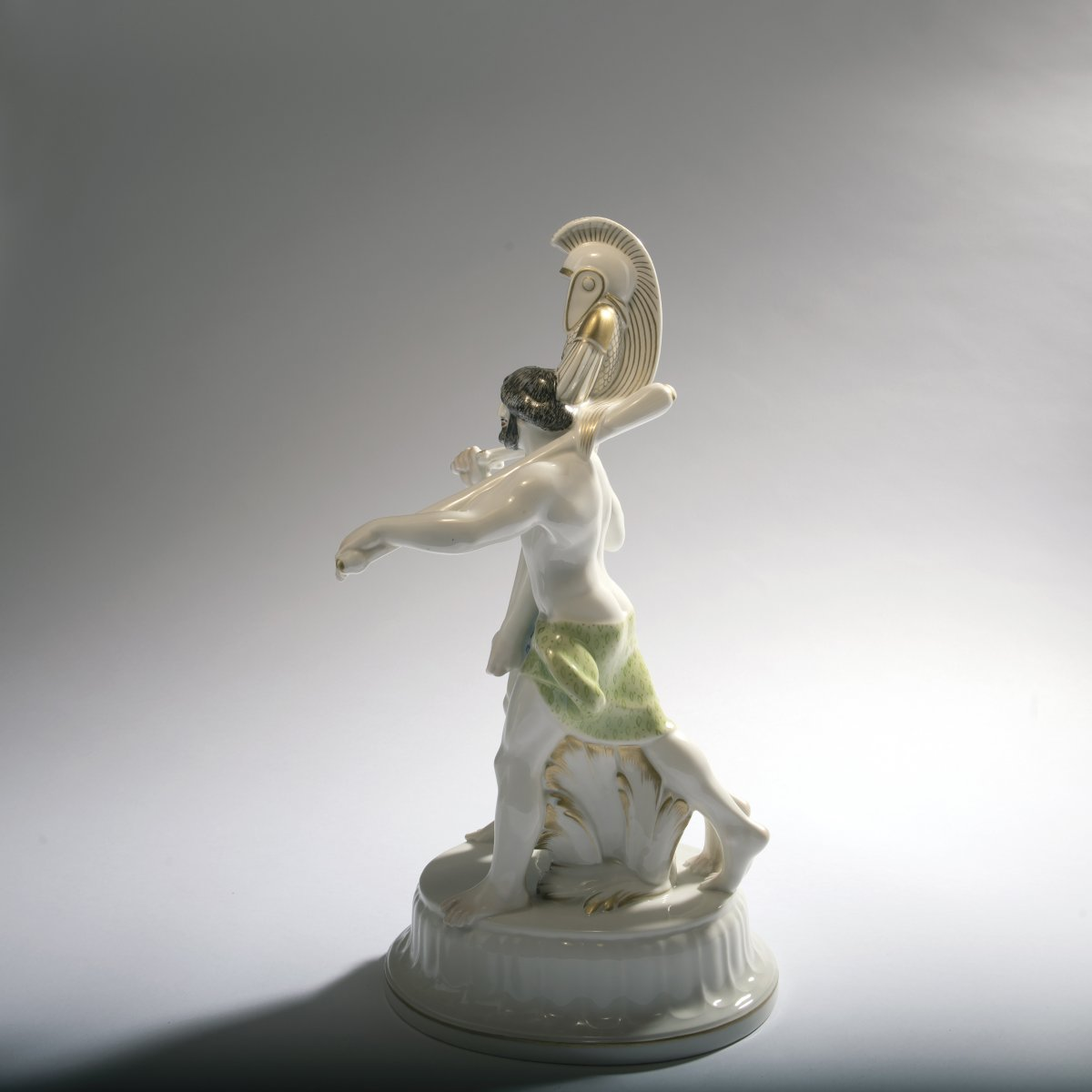 Lot 58 - Adolph Amberg, 'Two Etruscans', 1910'Two Etruscans', 1910H. 41.3 cm. Made by KPM Berlin,