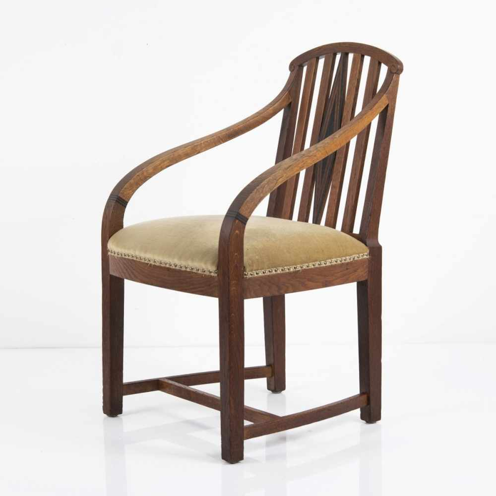 Lot 30 - Bruno Paul, Armchair, model for the artist's first Berlin apartment, 1907Armchair, model for the