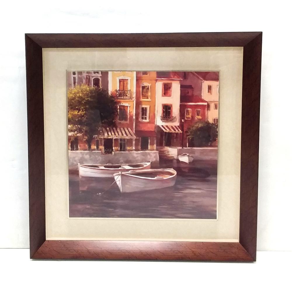 Lot 57 - Framed Venice Scenes